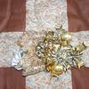 A Christmas pin.