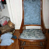 "This is a very nice rocking chair in excellent condition.  Gregory describes it as ""three quarters"" size.  It would be good for a teenager or petite adult."