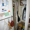 Broom closet.  Gregory will keep the ironing board.