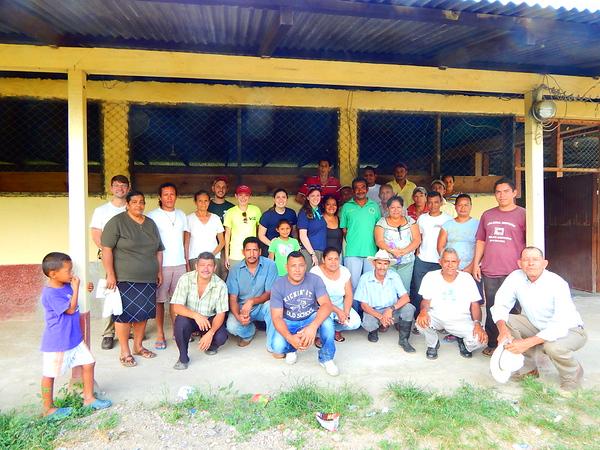 Donor Reception Honduras
