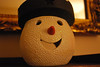 Happy Snowman Head