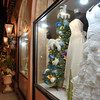12/14/12:  Another one just for the ladies!  These are some very pretty and elegant gowns, don't you think?  A very nice Christmas display...