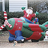 12/21/12:  Apparently Santa has gotten his pilot's license.  This is probably in case Rudolph comes down with the flu or something...  It's always good to have a backup plan!