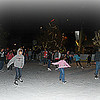 11/28/12:  Columbia's very first outdoor ice skating rink opened on Thanksgiving Day.  As you can see, it looks like it's going to be a very popular place!  There was a line of people at least a city block long waiting for their turn to get on the ice!!