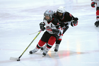 'Rep' level girls hockey, Richmond BC.