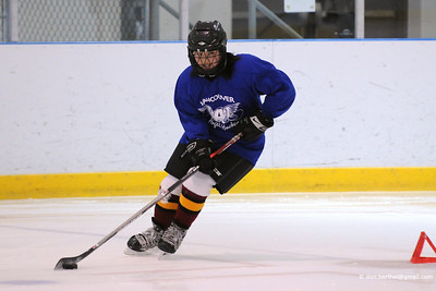Vancouver Angels girls hockey.