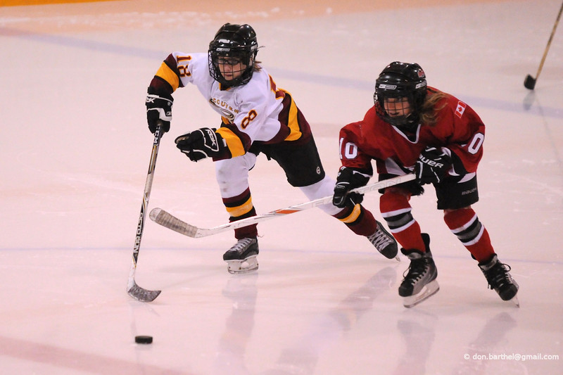 Used for posters promoting girls hockey in Vancouver.