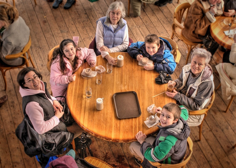 Group portrait using HDR processing.