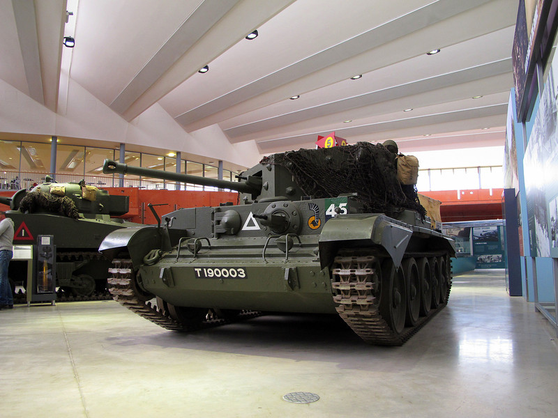 The Cromwell tank as it was when fighting in Northern France in 1944