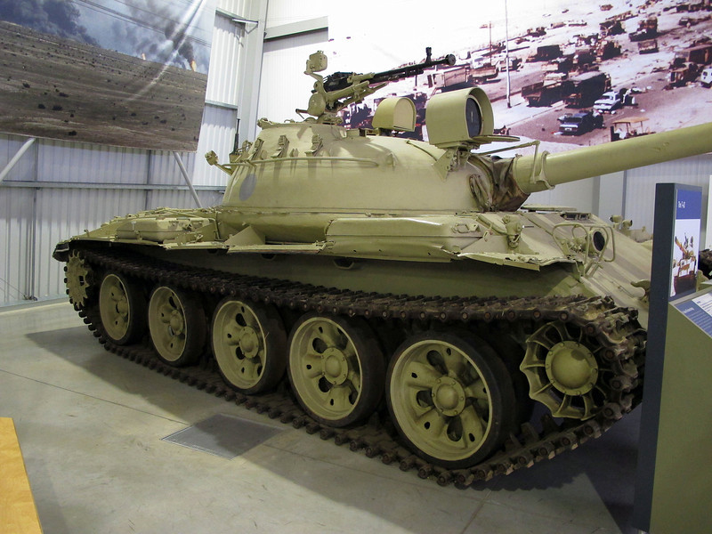 Ex Iraq army Main Battle Tank T-62