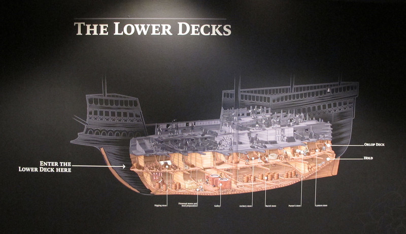 What the Mary Rose would have looked like.