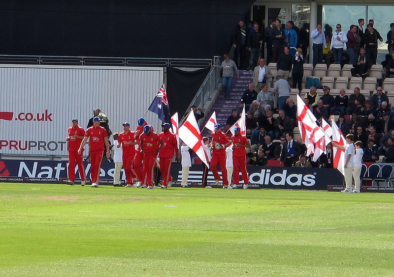 The Aegeas Bowl Southampton and the last of the series of ODIs following the Ashes Tests in 2013.   England were polite enough to lose to mark Don's visit to the game.