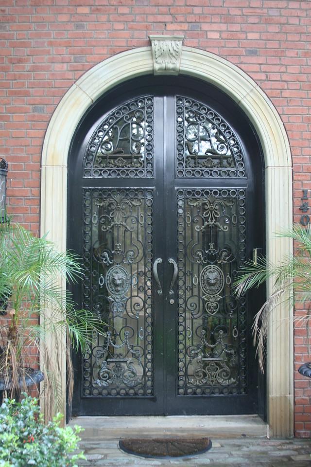 Arch Metal Door With Glass Pennsylvania, USA