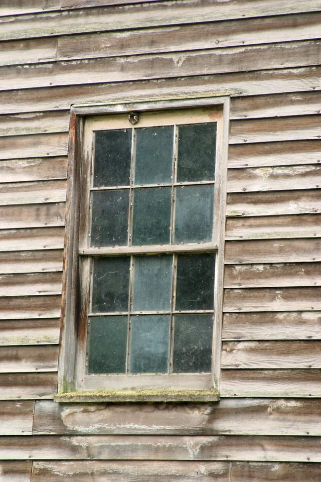 Window in Clapboard