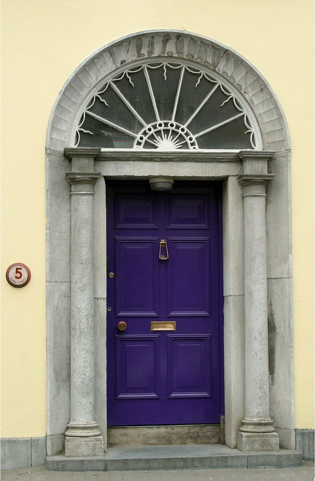 Purple Door #5