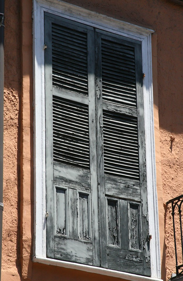Grey door,Stucco wall