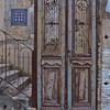 old door in Yaffo, Tel Aviv, Israel