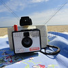 Swinger Polaroid Camera on the Beach