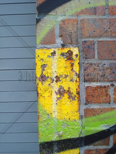 Graffiti on Brick
