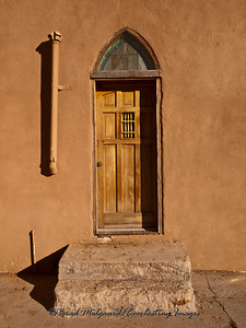 """Quiet Entry""-Saint Teresa-Corona, New Mexico"