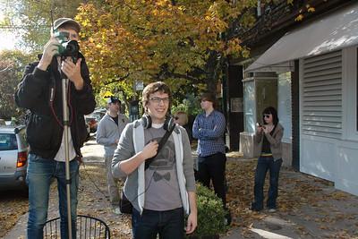 Doria film shoot October 2010