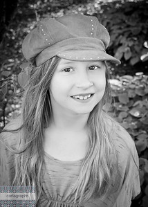 Devon with Hat bw-7598