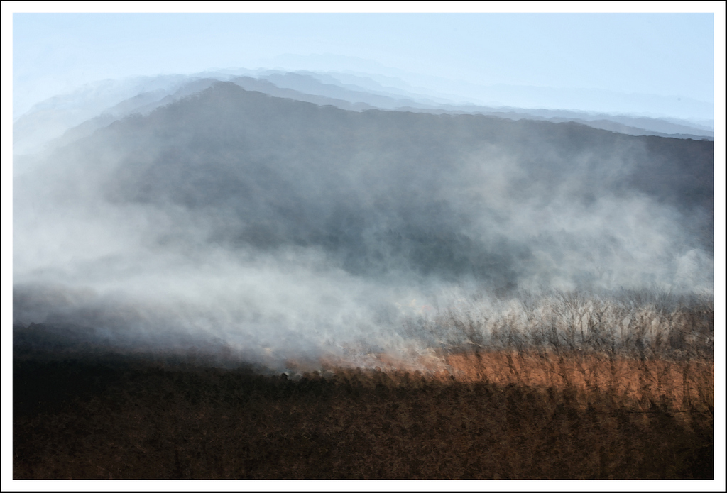 Fall burn at the pampas grass fields.  6 exposures.