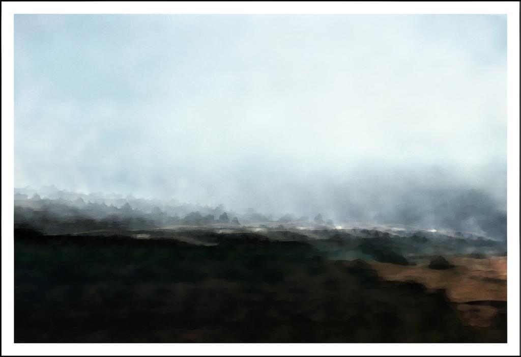 Fall burn off at the Sengokuhara wetlands.  6 exposures
