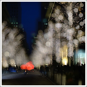 Double exposure at Marunouchi