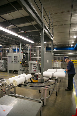 Edina, MN - EDM 0912 Water - Dow Water and Process Solutions Water Purification filter manufacturers - They produce the filters used in water purification systems both industrial and personal. the round filters are put into a broad variety of other manufacturers systems around the world. Photo by © Todd Buchanan 2012 Technical Questions: todd@toddbuchanan.com;