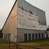 Old Drive-in Theater Screen, now storage facility, Williamston, NC