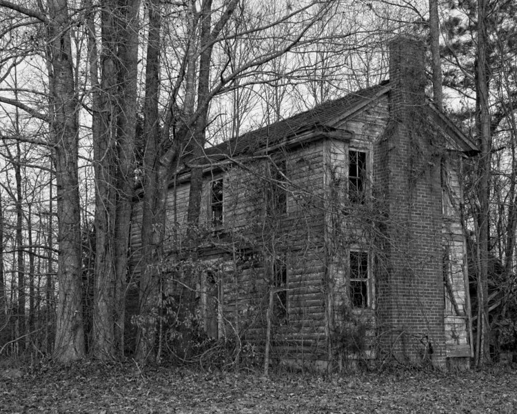 House on Wooded Lot, Hwy 264, near Plymouth