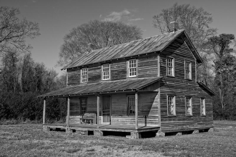 Farmhouse, Sandy Point Road, near Edenton, NC