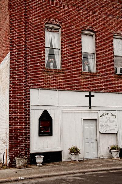 Good News Church, Downtown, Everetts, NC
