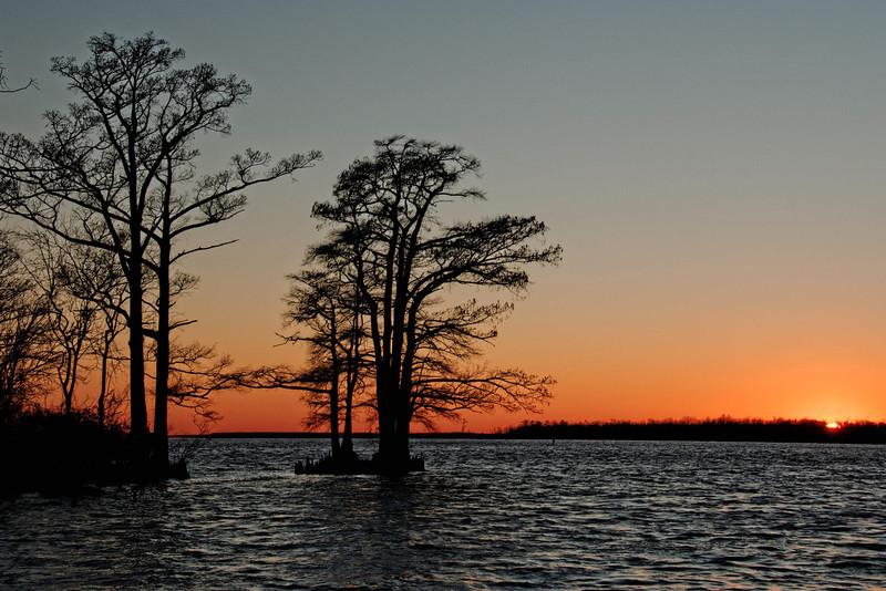 Sunset at Edenton Waterfront