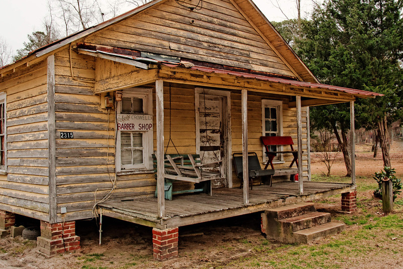 Crowell's Barber Shop, Everetts, NC