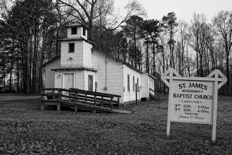 St. James Missionary Baptist Church, Hwy 264