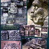 Howler Monkey God IK. Copan ruins, Honduras. February 27, 1987