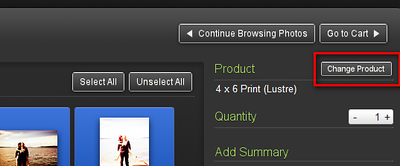 "choose ""Change Product"". a dialog will popup where you can choose the ""Downloads"" option."