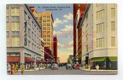 A postcard capturing Levy's and Furchgott's during the 1940s. Image courtesy of http://www.playle.com/listing.php?i=SWAMPFOX1096&PHPSESSID=a