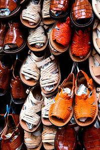 Imelda Marcos' sandal collection.