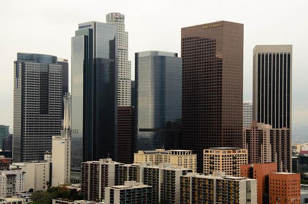 Downtown LA via Union Station