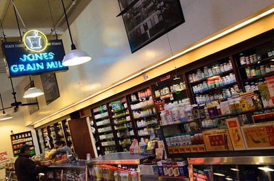 Inside the Grand Central Market. If you can't find a cure for what ails you, here, it probably doesn't exist.