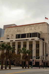 A little further down the road we come across the LA Times building.