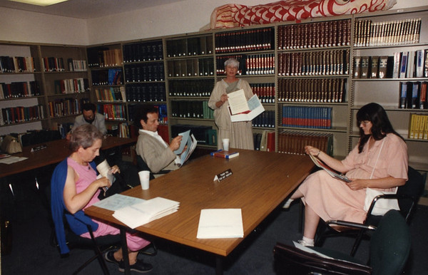 Downtown Library Tour 1989