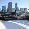 "Target Field becomes canvas for snow artist<br /> <br /> <a href=""http://www.kare11.com/article/news/target-field-becomes-canvas-for-snow-artist/89-513672668"">http://www.kare11.com/article/news/target-field-becomes-canvas-for-snow-artist/89-513672668</a><br /> <br />  The Great Northern, a 10-day winter festival, commissioned Beck, along with sponsor Red Bull, to create a geometrically inspired piece over two days, the first snow mural Beck has completed in a stadium.<br /> Author: Lindsey Seavert<br /> Published: 8:44 PM CST February 1, 2018<br /> <br /> MINNEAPOLIS - World-renowned snow artist Simon Beck has trekked into the Bold North all the way from Britain to create an art installation at Target Field, using only snowshoes.<br /> <br /> The Great Northern, a 10-day winter festival, commissioned Beck, along with sponsor Red Bull, to create a geometrically inspired piece over two days, the first snow mural Beck has completed in a stadium.<br /> <br /> Admittedly, Target Field may be his coldest canvas yet, but Minnesota's powdery palette is Beck's preferred medium.<br /> <br /> ""The snow is very good here. This was quite a fun drawing to do. The natural patterns of snow are very beautiful, sometimes so nice, it's shame to plow through,"" said Beck.<br /> <br /> Undeterred by subzero temps, Beck, 59, blazes ahead with his snowshoes, making circular patterns at almost a jogging pace, only worried about a 360-degree vision. His artistry started as a main form of exercise, but has grown into an artform gaining international acclaim. He's now published a book, and is tapped by worldwide brands who commission artwork of their logos.<br /> <br /> The step by step masterpiece is best appreciated from a bird's eye view. Target Field's mural is his 276th snow drawing, a geometric wonder inspired by a mandala and fractal patterns, and a mathematical feat completed from memory. Beck is a former map-maker.<br /> <br /> ""When you see it for the first time, that is the big moment,"" said Beck. ""You do it much the same way as you do it on paper, you use a compass instead of protractor, and snowshoes instead of pencil.""<br /> <br /> Beck usually spends at least 10 hours completing a design before he tires, and when Minnesota winds threatened his artic etch-a-sketch on a chilly afternoon, there was still no erasing what Beck leaves behind, showcasing Minnesota as a masterpiece all its own.<br /> <br /> ""Designs are a thing of beauty,"" said Beck. ""And boy, the sun sparkles on the snow, I just love snow.""<br /> <br /> Beck has set a goal of completing 1,000 snow drawings by the time he turns 80. He also does drawings on beaches in the sand.<br /> <br /> Follow his work on Facebook page here.<br /> © 2018 KARE<br /> <br /> <br /> more Target Field Pics.. <a href=""http://smu.gs/18Retpz"">http://smu.gs/18Retpz</a>"
