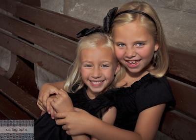 Sister Hug-