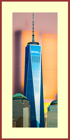 Freedom Tower Frame 24 x 48