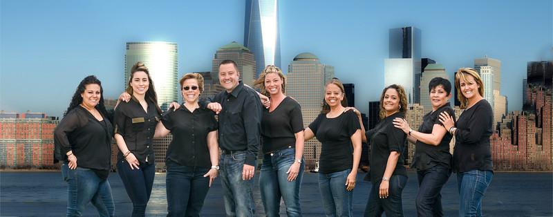 Redone Staff & Freedom Tower 15.5 x 39.5