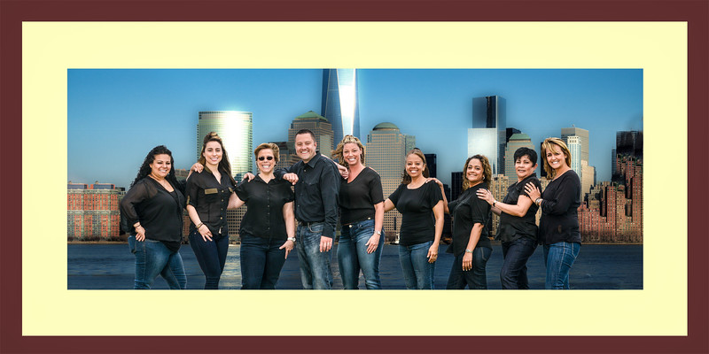 Staff + Freedom Tower Frame - 48 x24